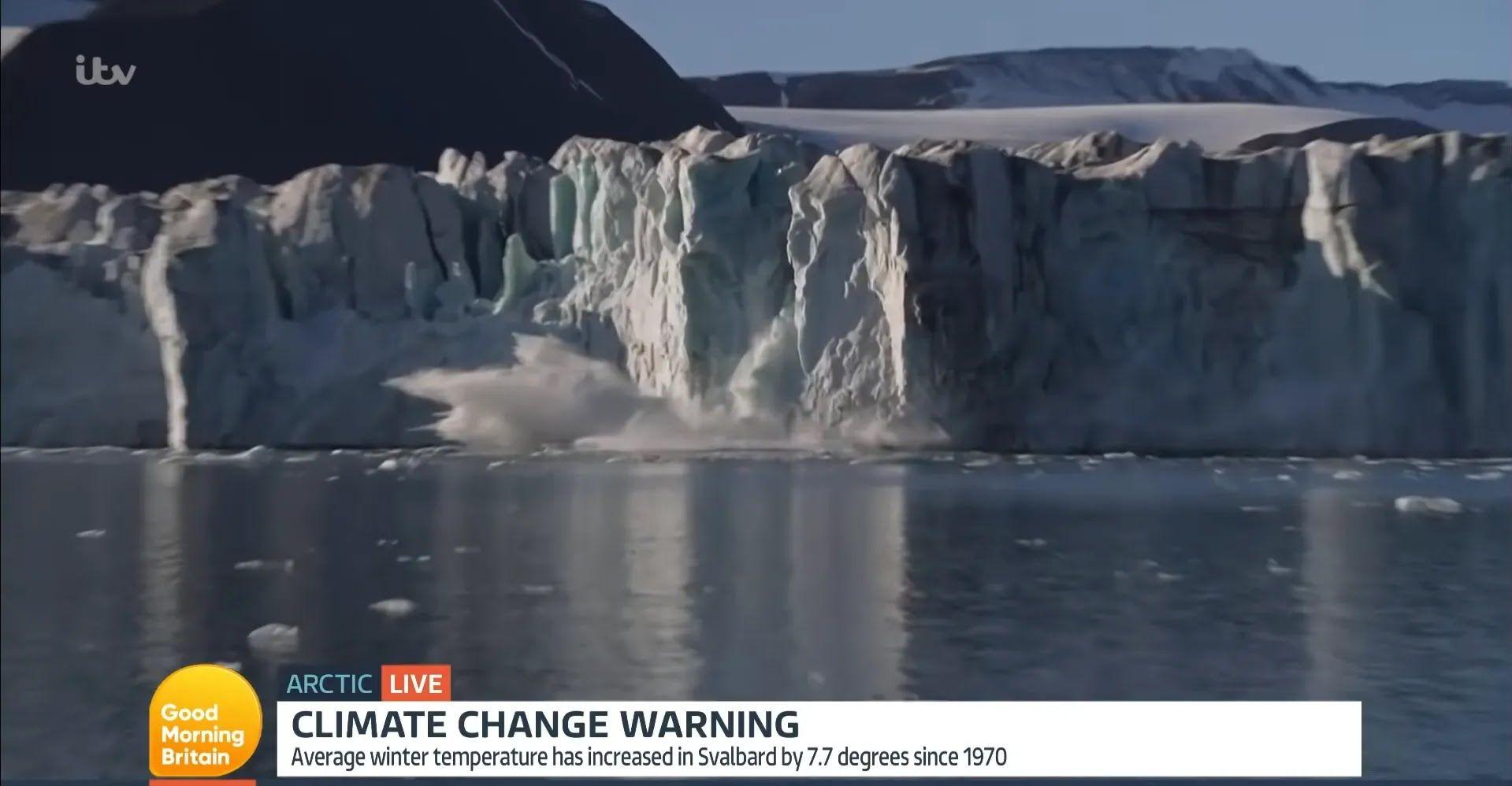 Танення льодовиків