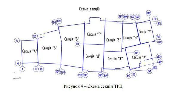 Схема багатофункціонального комплексу.