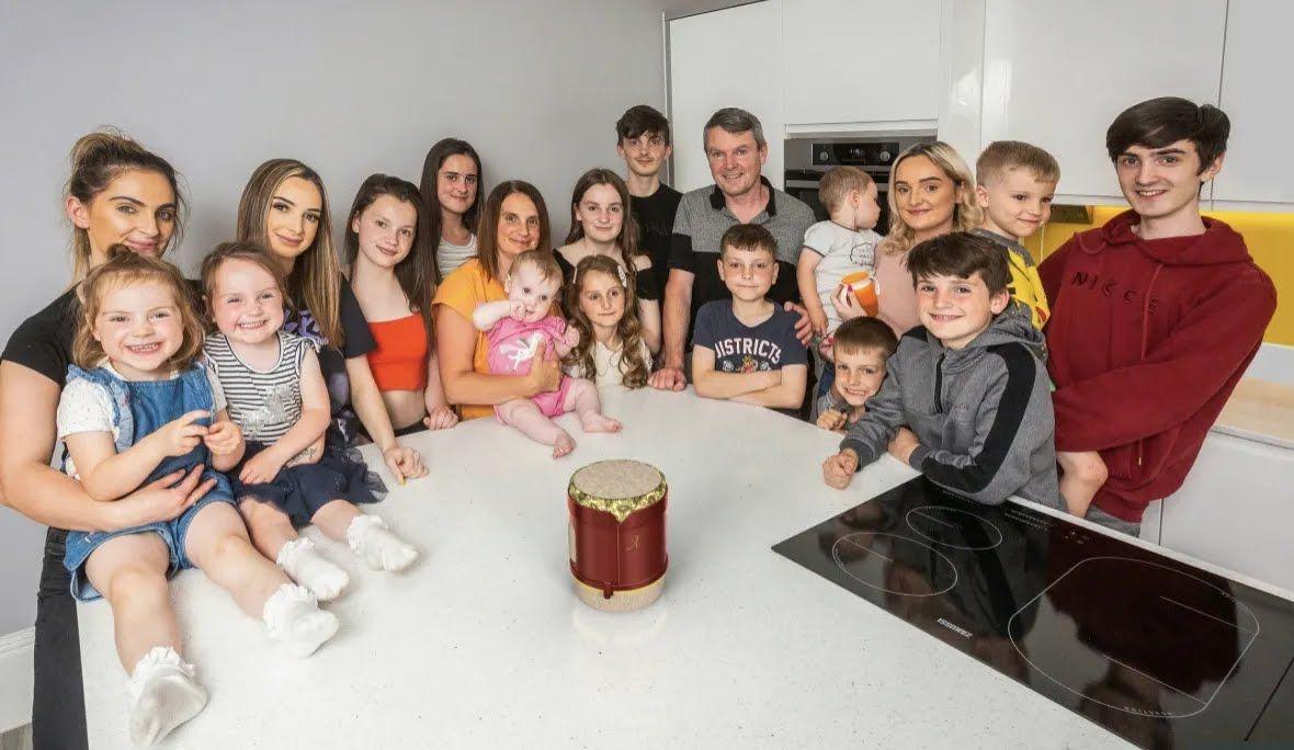Самая большая семья в Великобритании.
