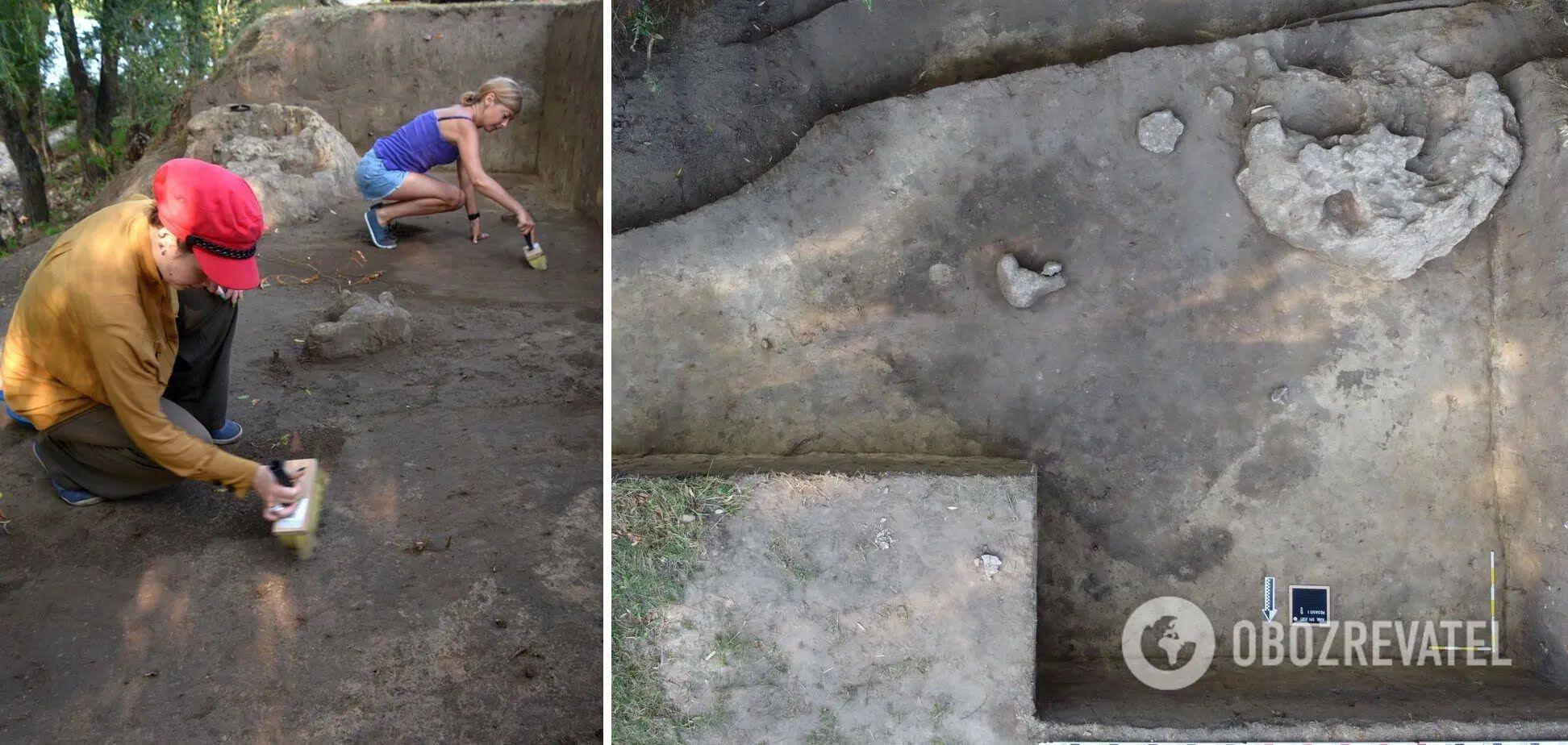 """Розкопки тривали в межах експедиції Національного заповідника """"Хортиця"""""""