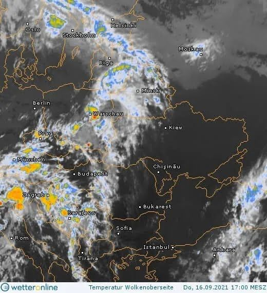 Циклон приніс в Україну зливи.