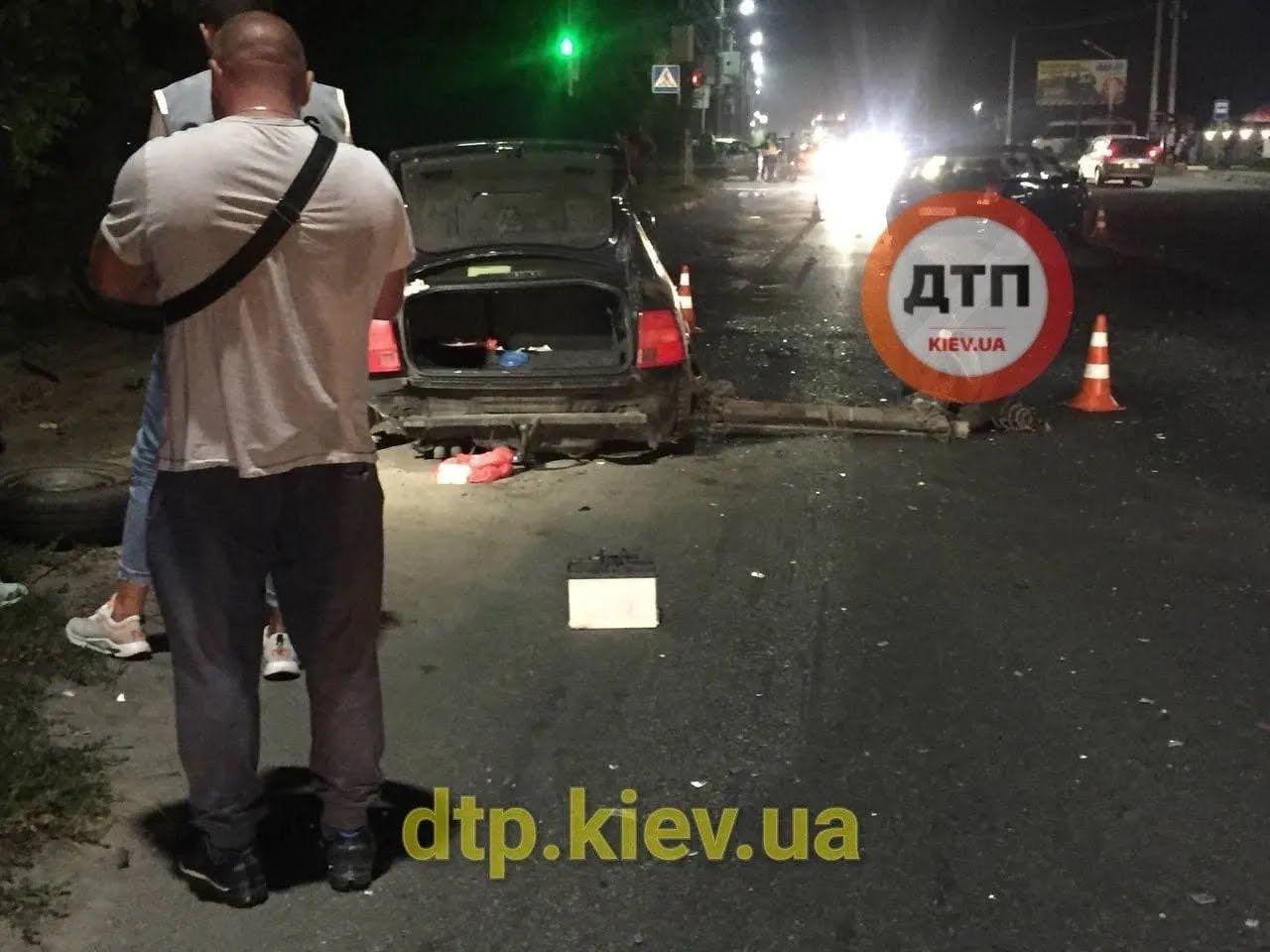 Очевидці показали місце аварії