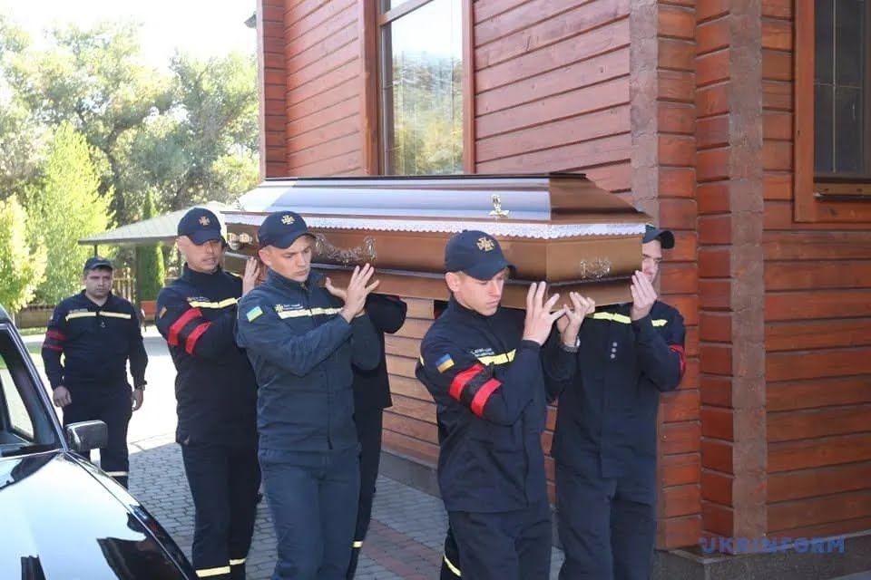 Поховання прийшлося на День рятівника