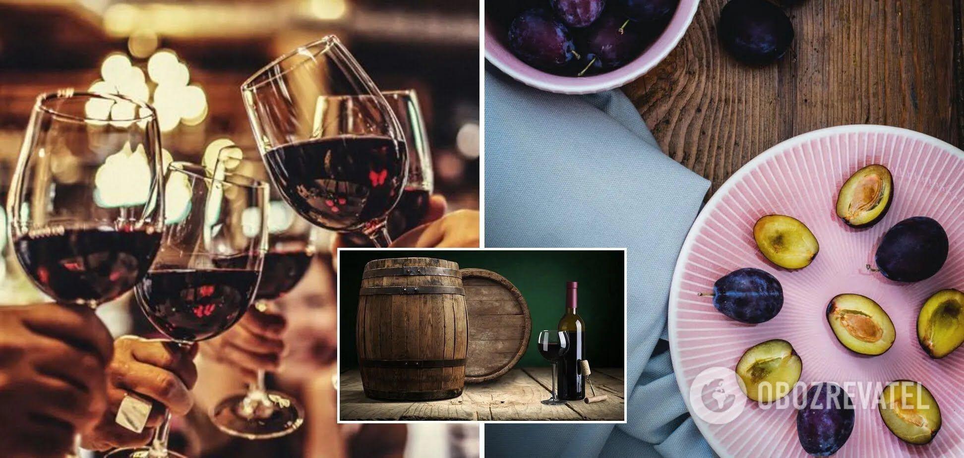 Приготування домашнього сливового вина