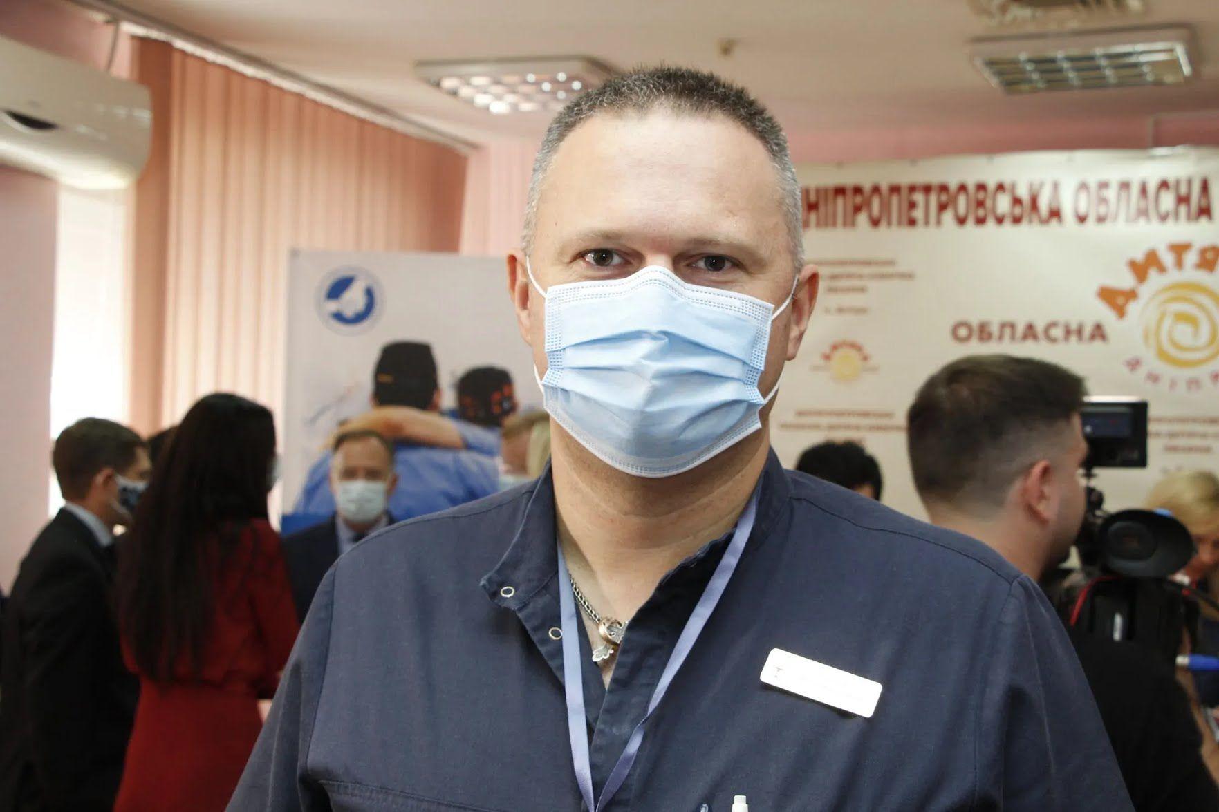 Врач-комбустиолог Артем Посунько
