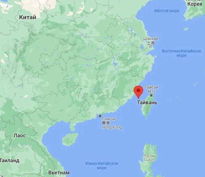 Тайваньский пролив.