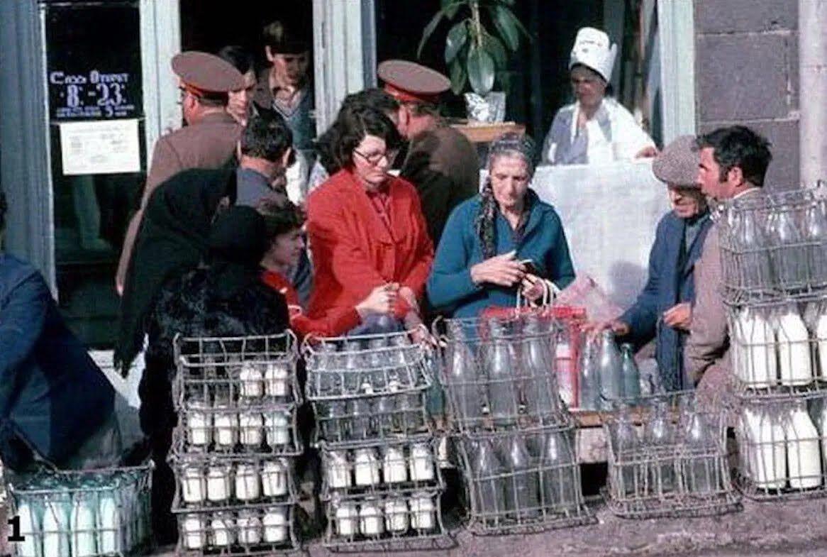 Запрещённые фото советских магазинов: хотели бы вернуться в такой СССР?