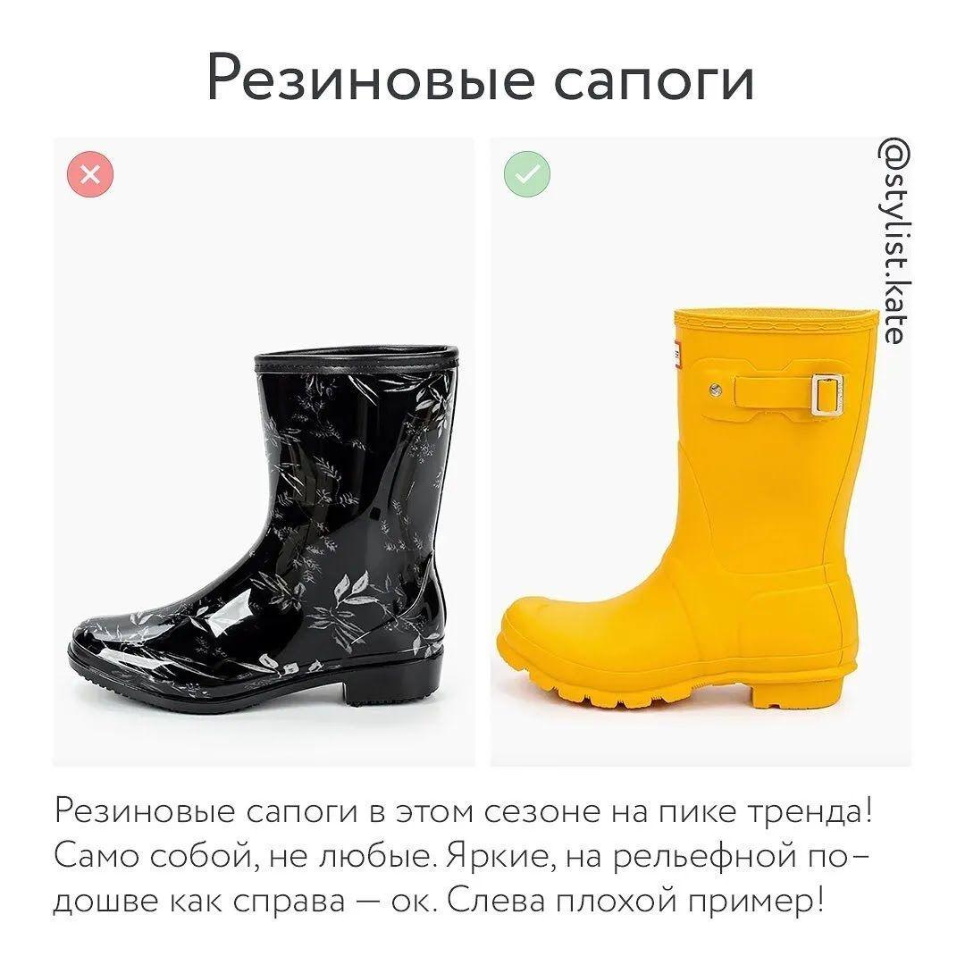 Взуття осінь-зима 2021 – гумові чоботи.