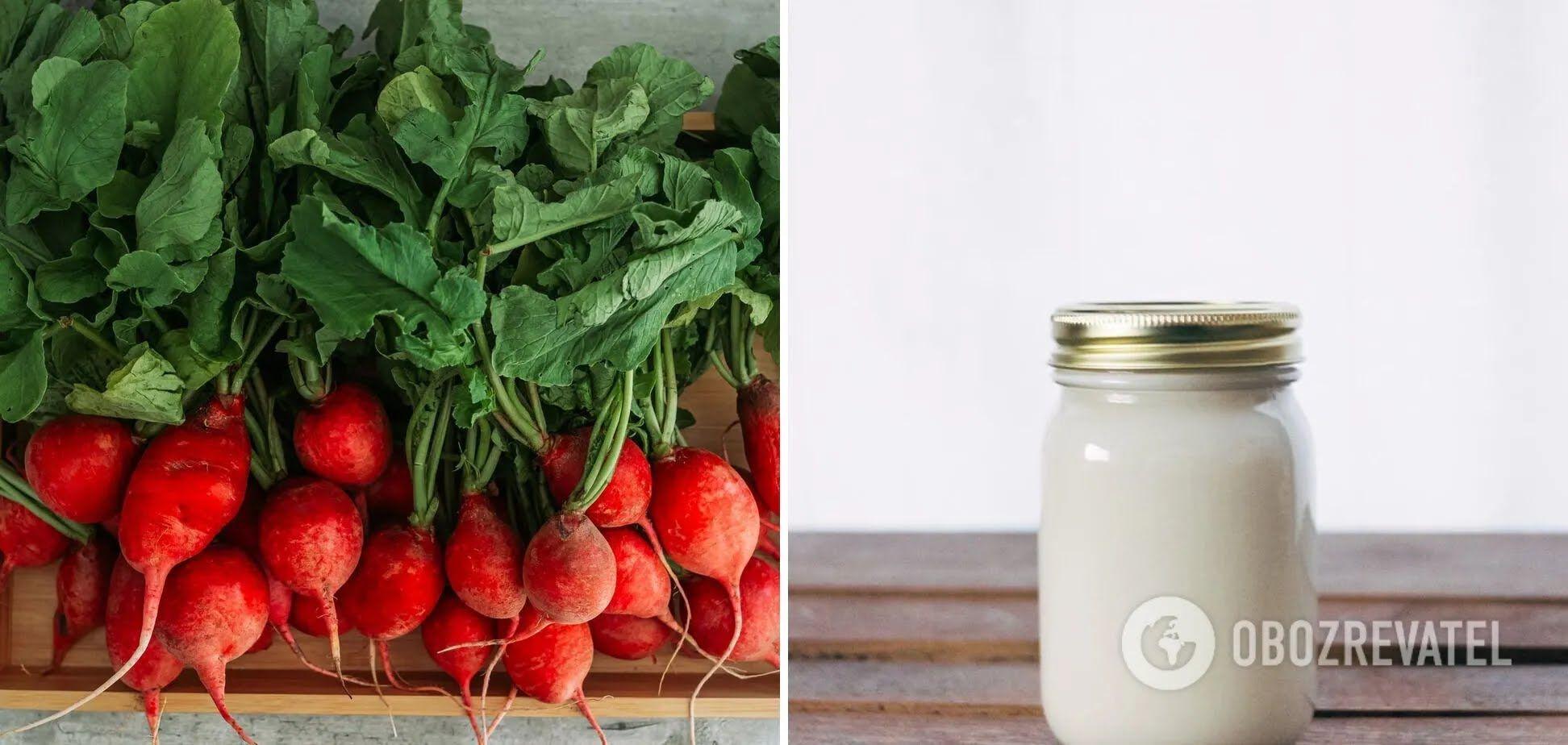 Редис и йогурт – несовместимые продукты
