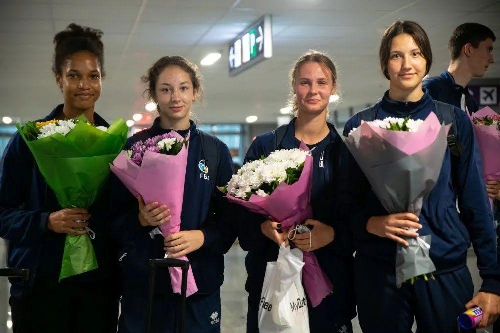 Женская сборная Украины U-17 по баскетболу 3х3.