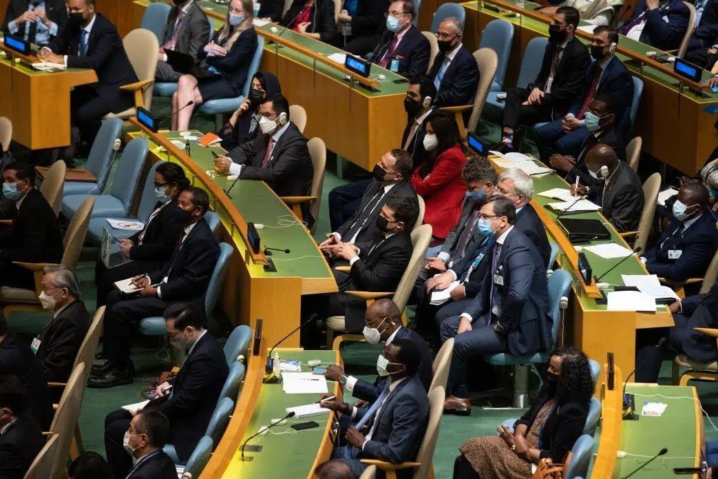 Зеленський на засіданні Генасамблеї ООН