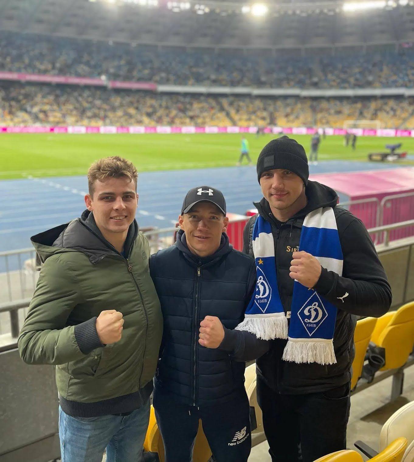 Олег Малиновський і Владислав Сіренко сходили на Суперкубок України.