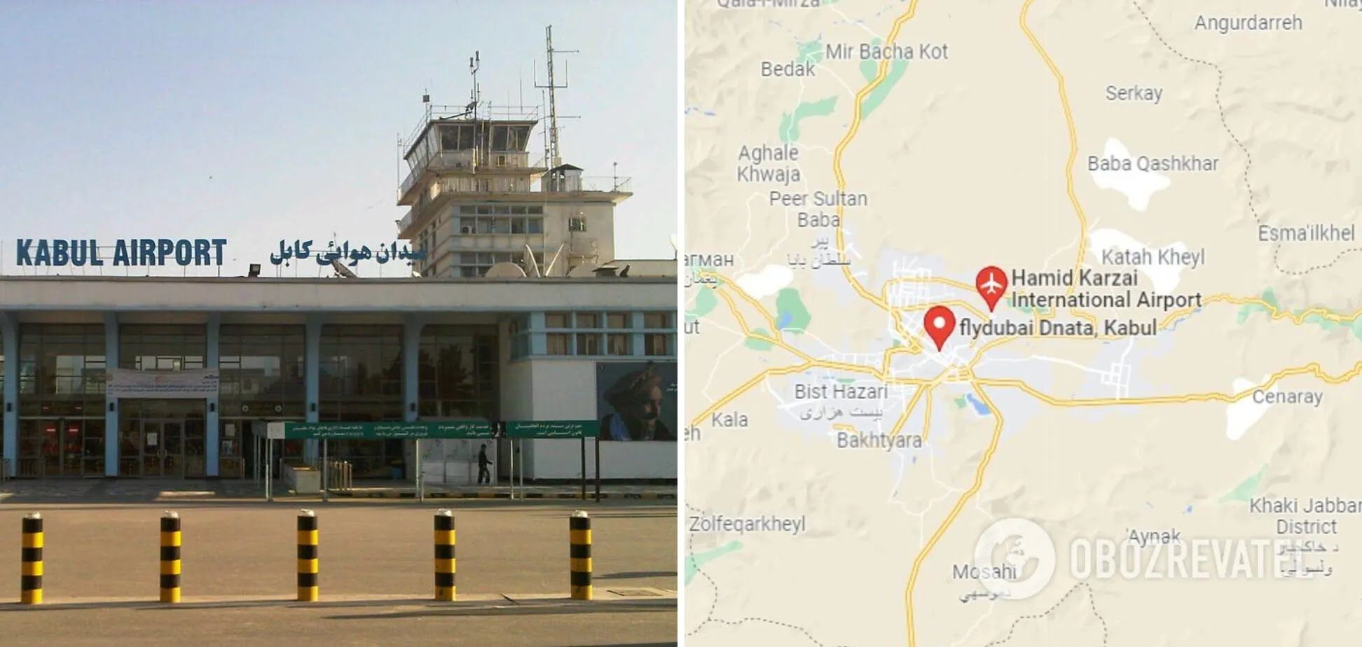 Украинский самолет две на этот раз дважды совершал рейсы в Кабул