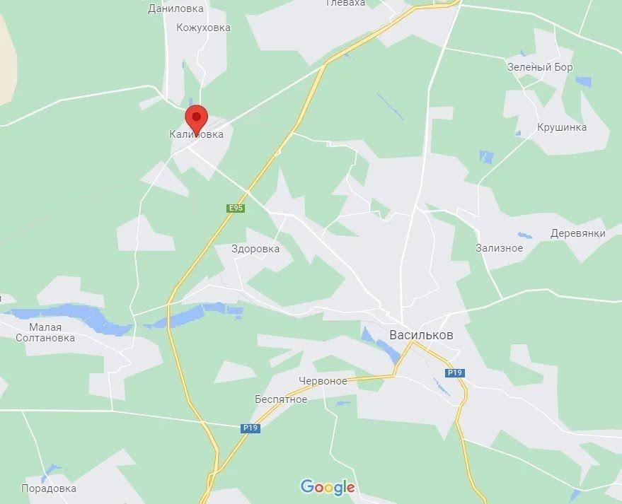 Аварія сталася в Калинівці.