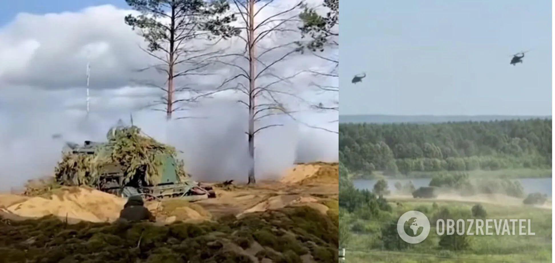 """Групи військових російської армії не відійшли від кордону з Україною після навчань """"Захід-2021"""""""
