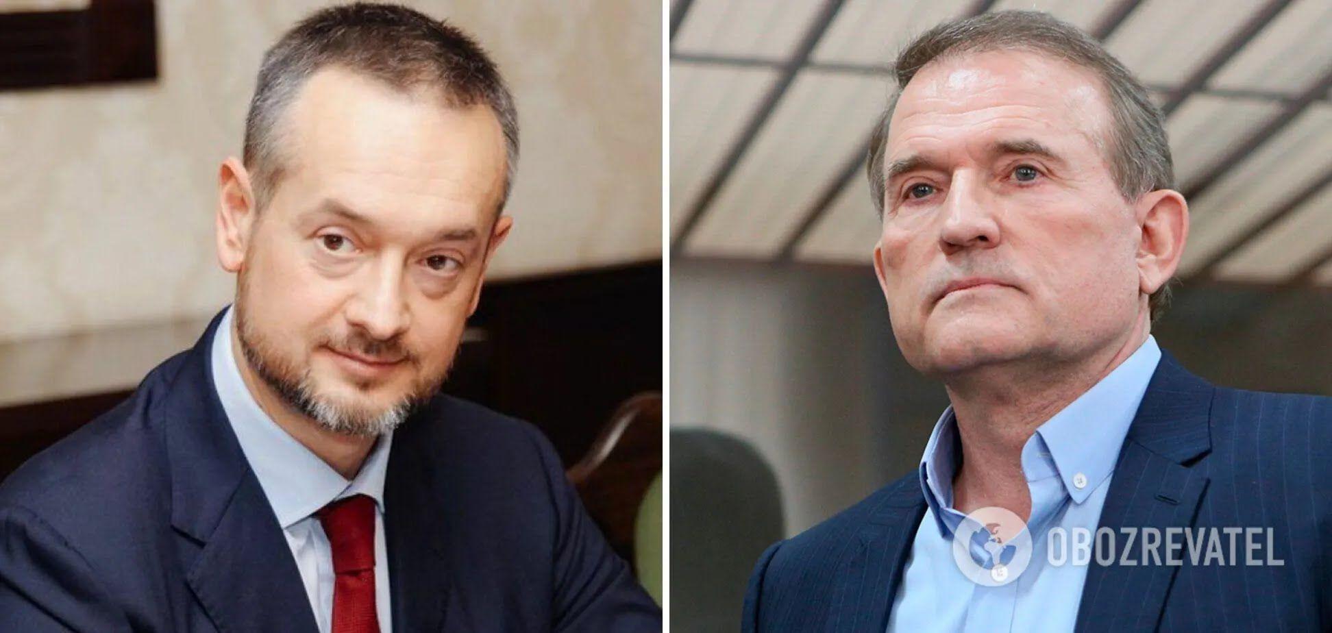 Сергій Кузяра і Віктор Медведчук