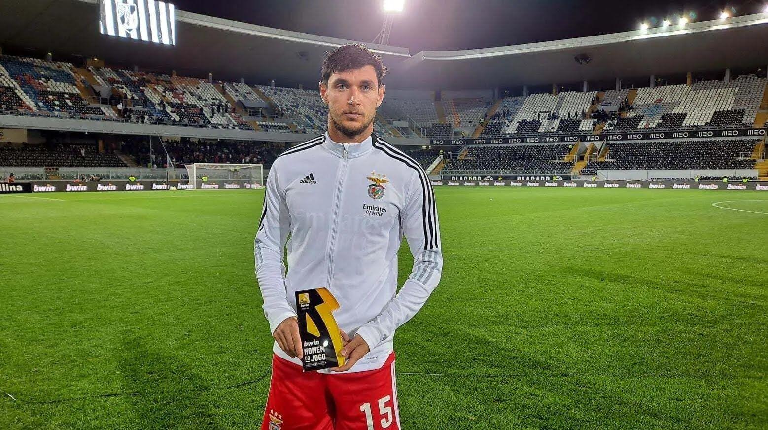Яремчук был признан лучшим игроком матча