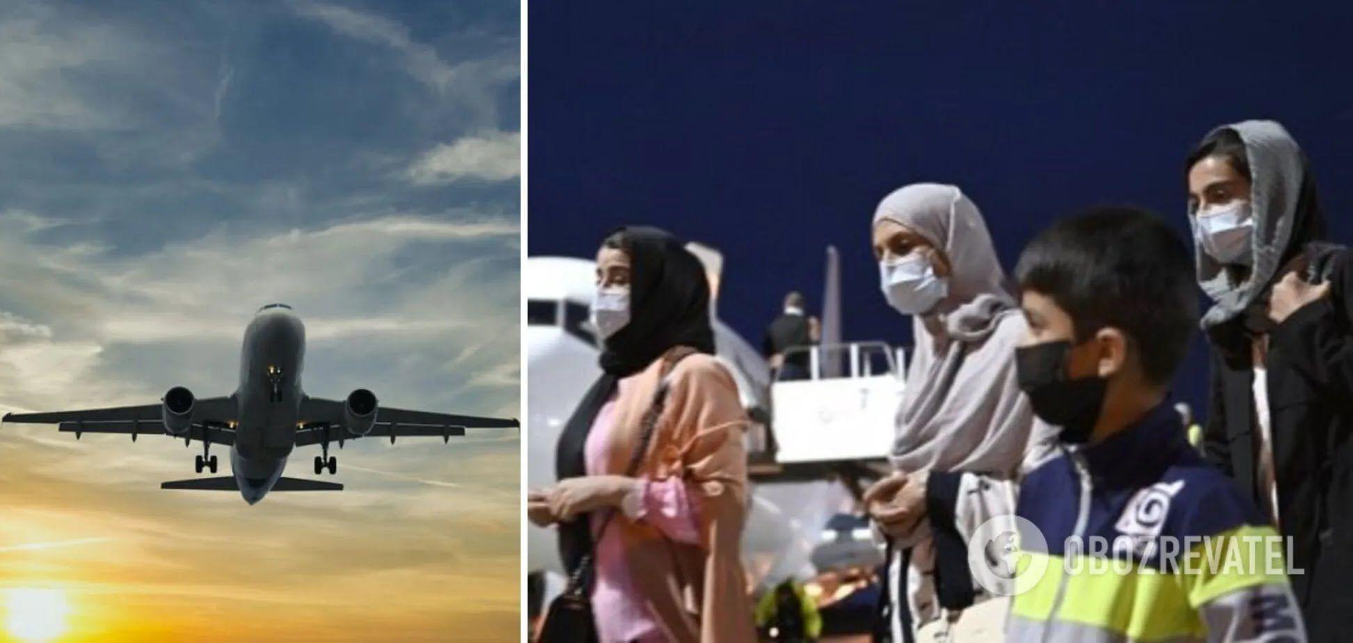 Украинский самолет вывез из Афганистана еще 96 граждан