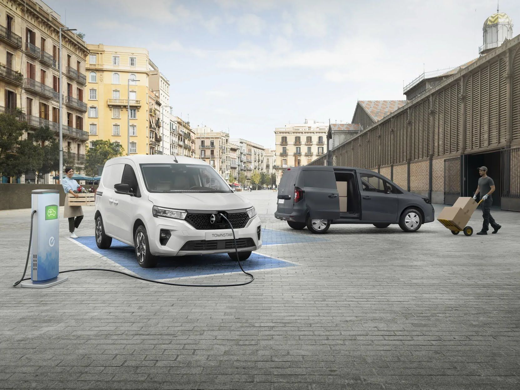 Nissan Townstar первым среди моделей семейства получит полностью электрическую версию