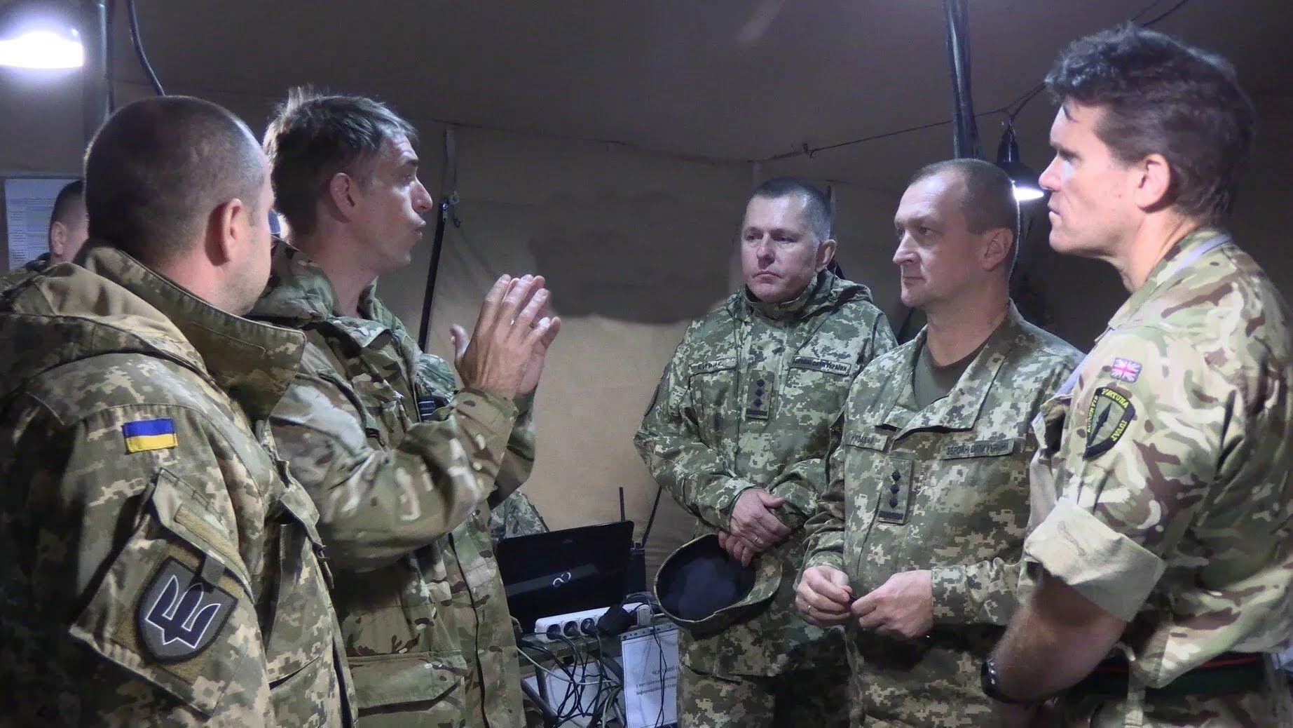 ВСУ провели навчання з британськими військовими