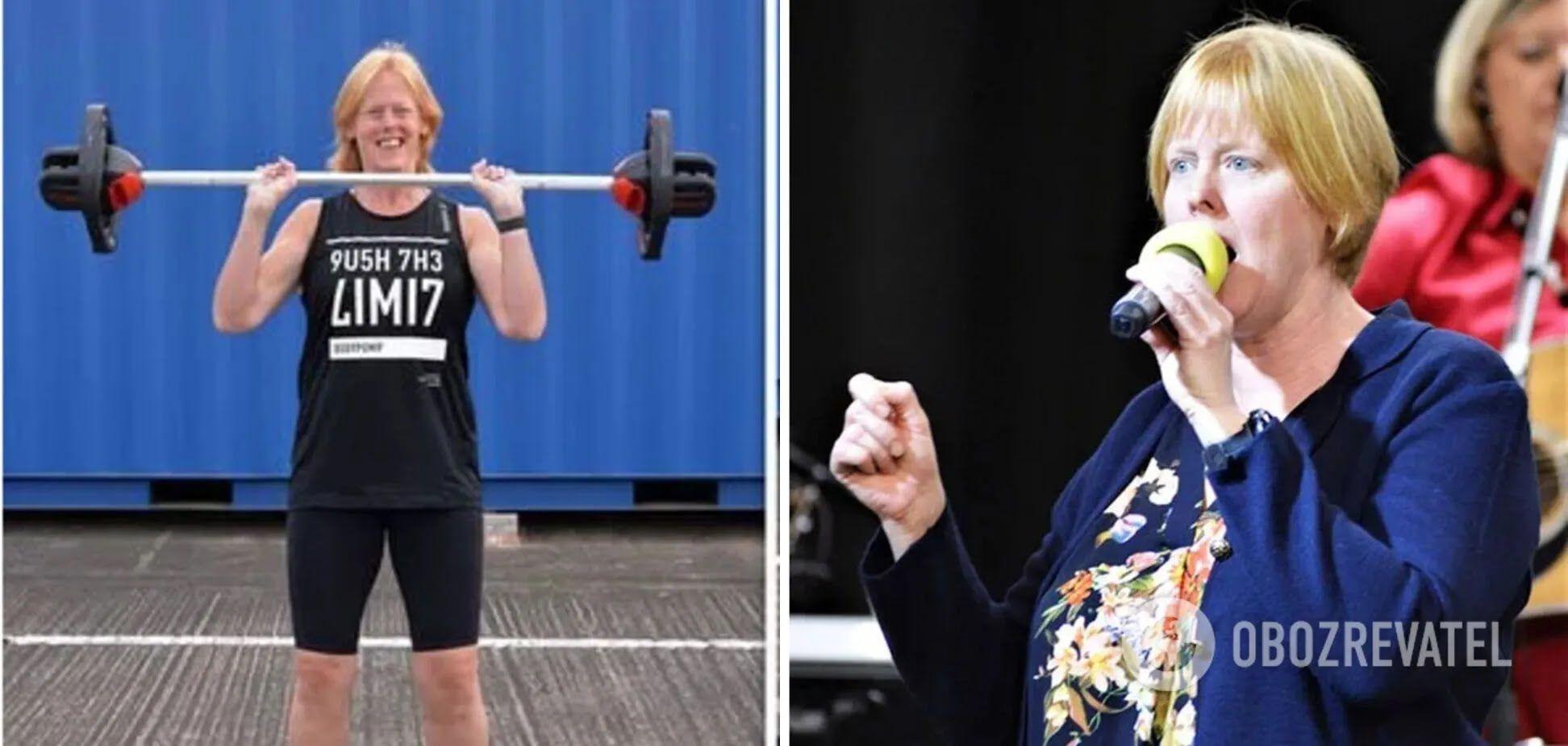 Марія Фокс почала займатися в спортзалі