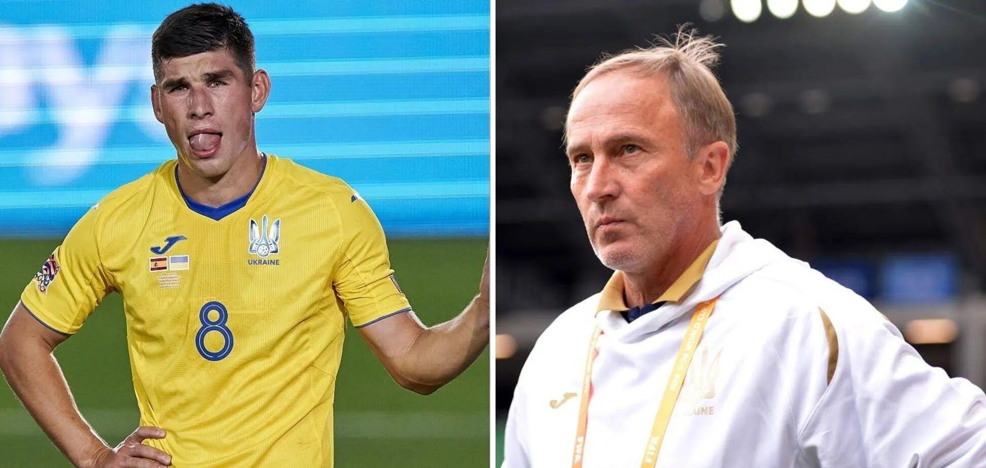 В сборной Украины не поддерживают Малиновского