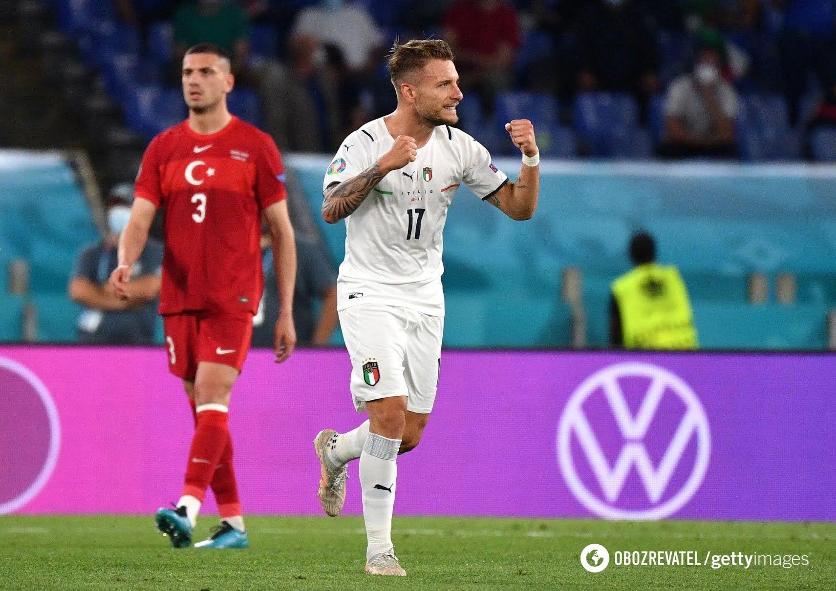 Итальянские футболисты стартовали с победы