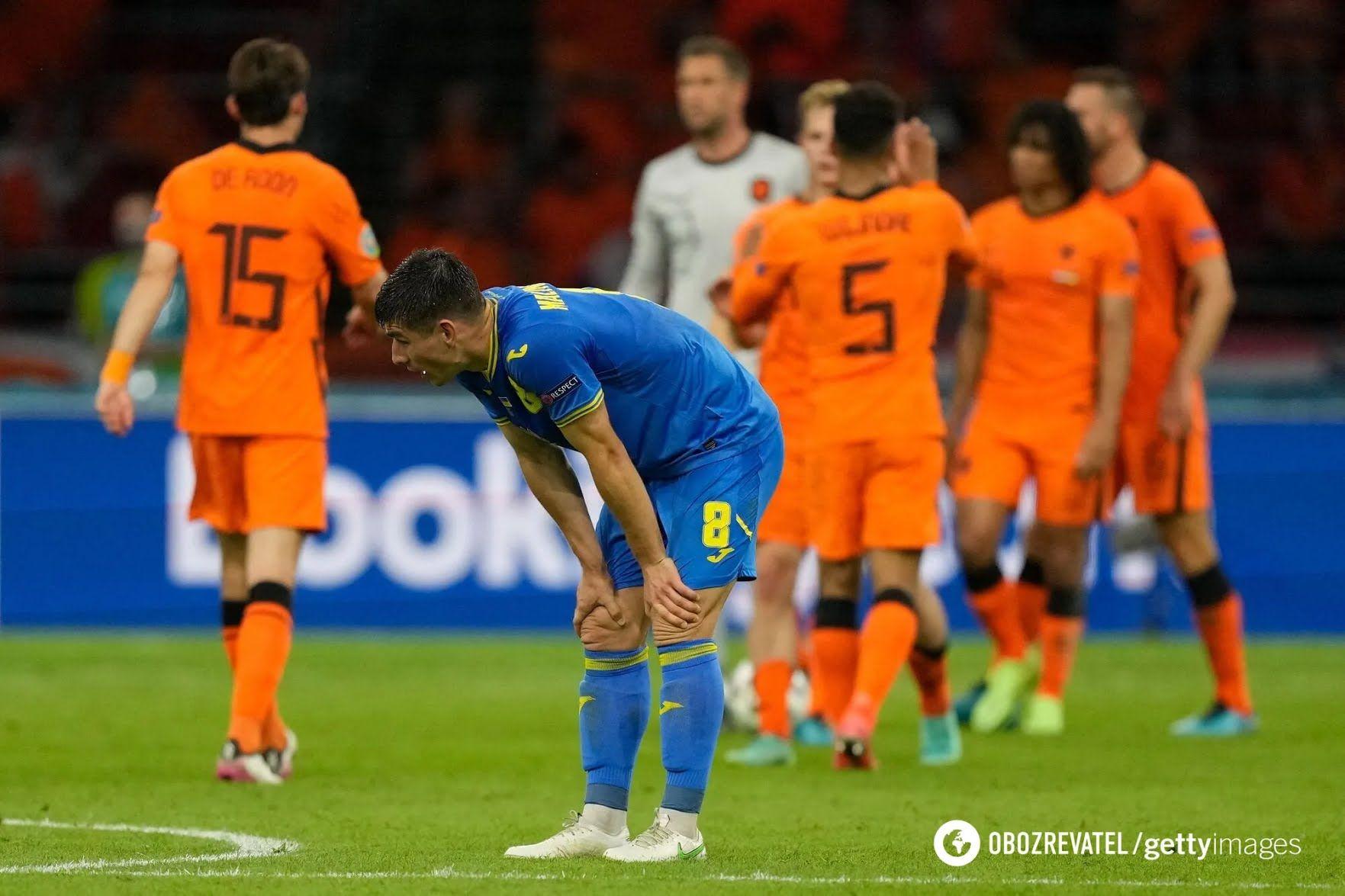 Нідерланди переграли Україну в кінцівці матчу.