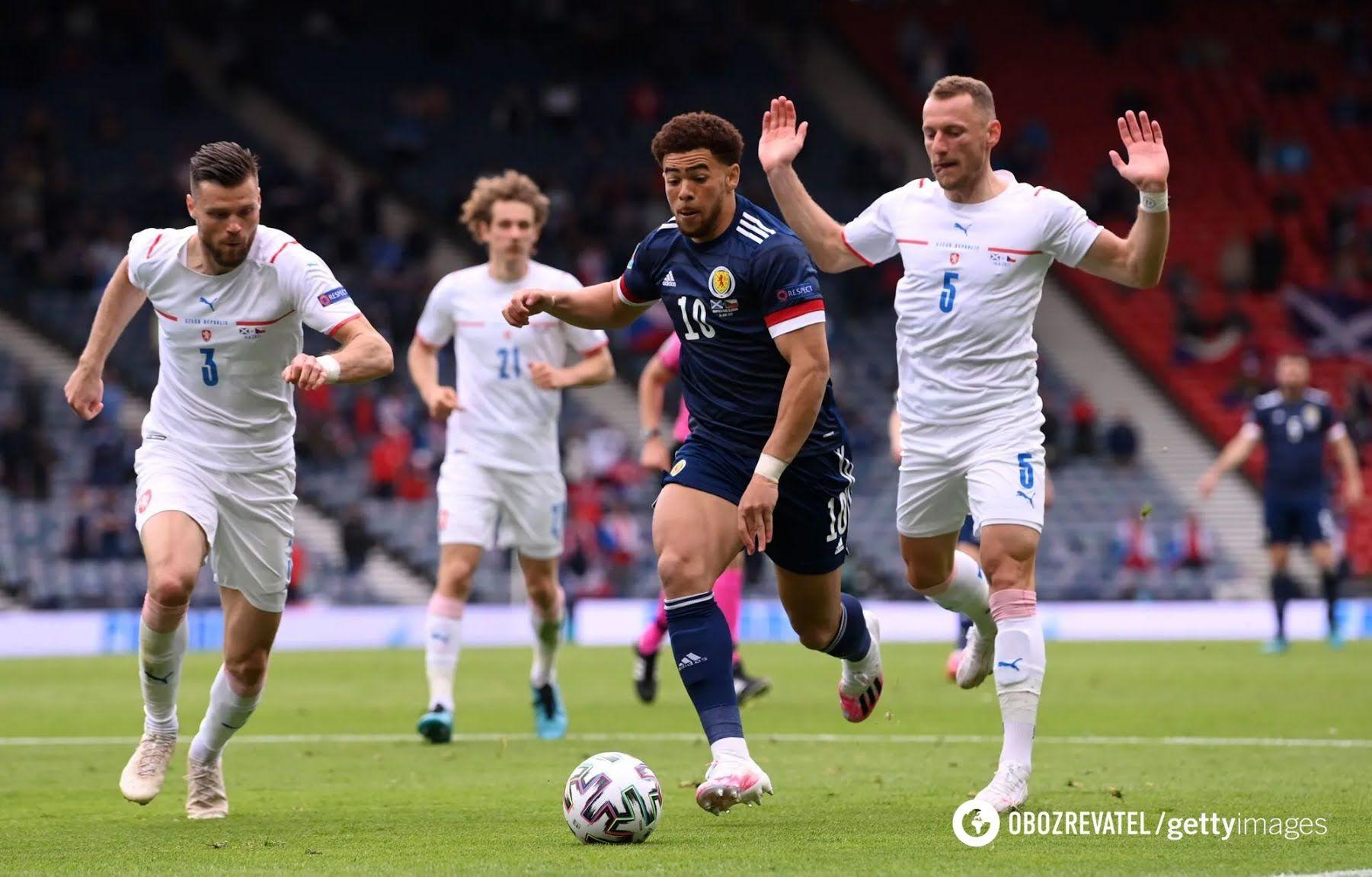 Шотландия проиграла Чехии