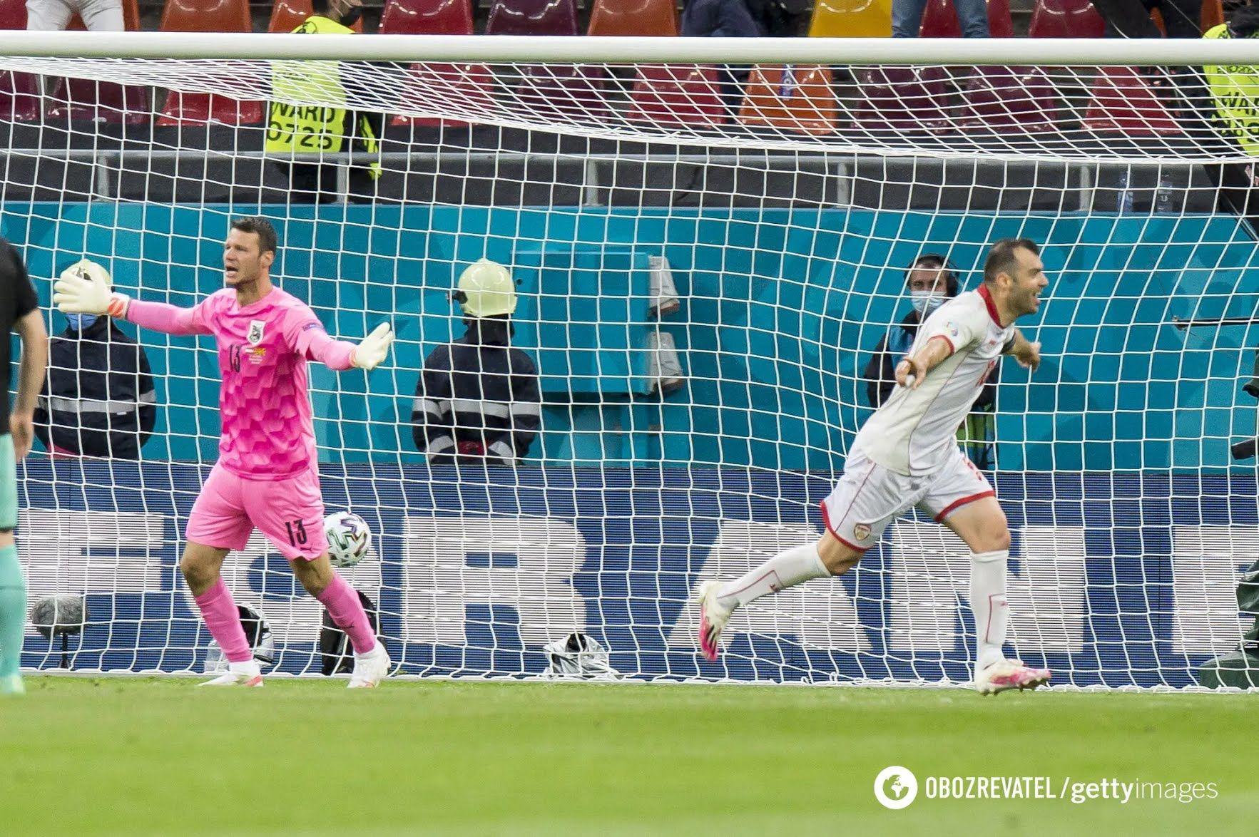 Пандєв забив в стартовому матчі Євро-2020.