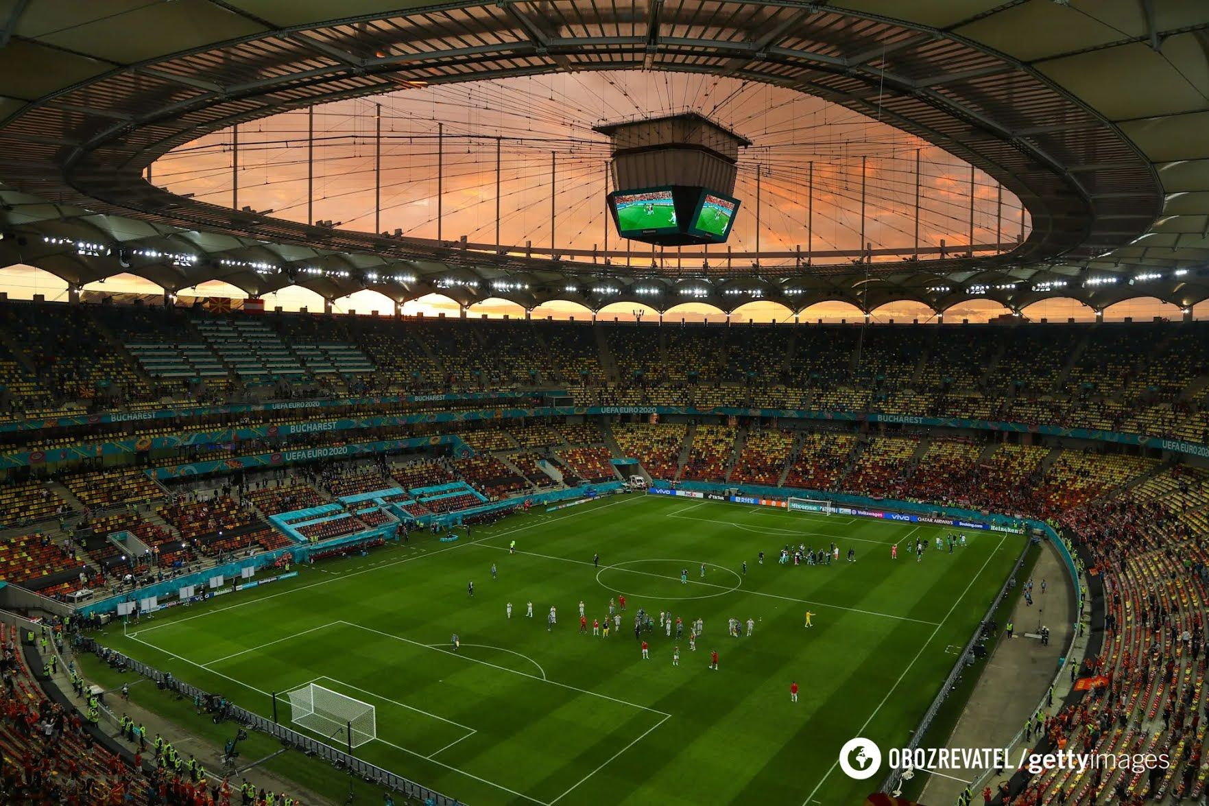 Національний стадіон у Бухаресті.
