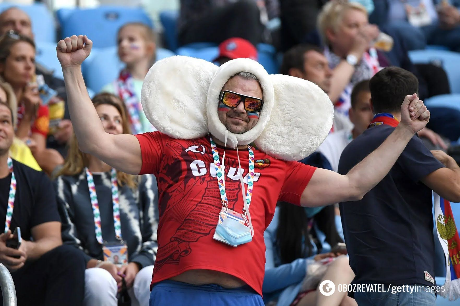 Вболівальники Росії чекають яскравої гри від своєї збірної.