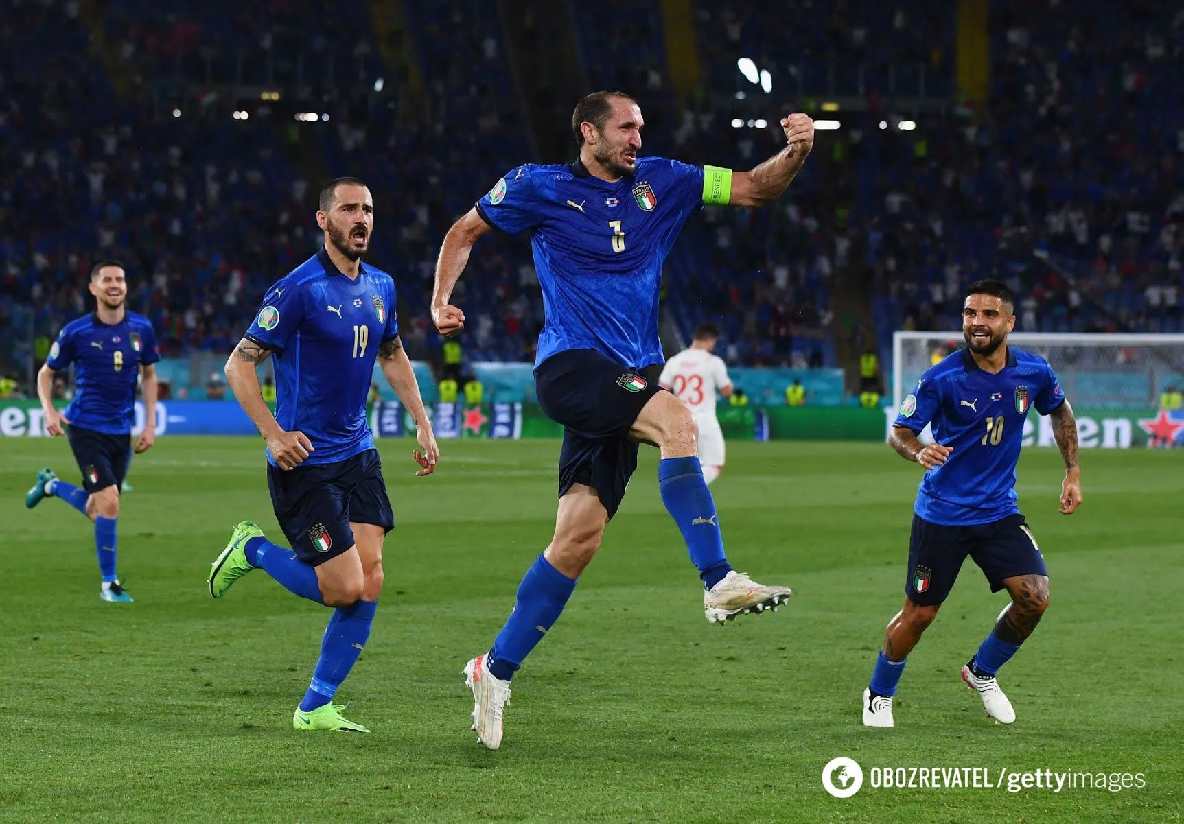 Итальянцы в двух матчах забили по три гола