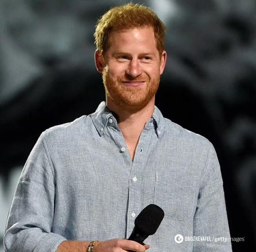 Принц Гарри на мероприятии.