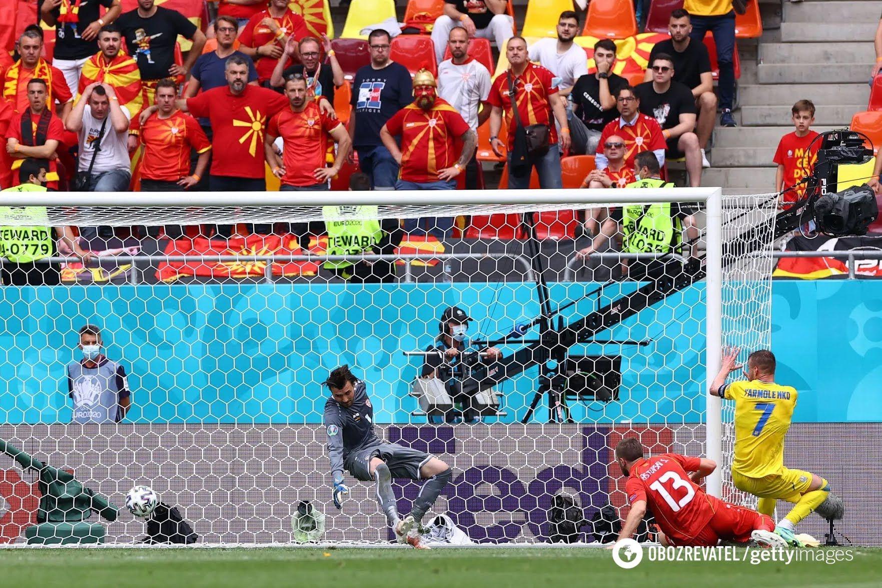 Ярмоленко забиває гол.