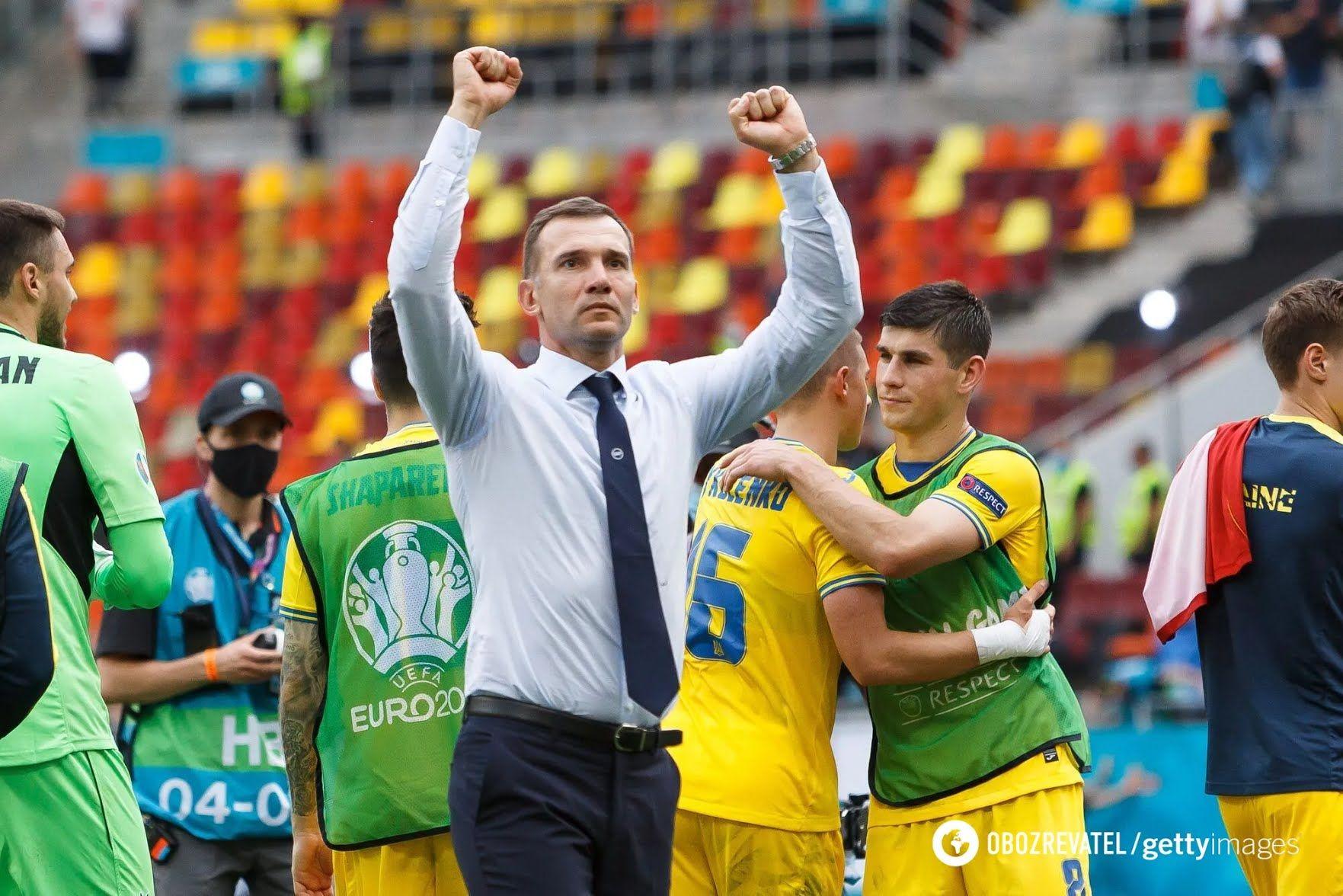 Андрій Шевченко в матчі проти Північної Македонії