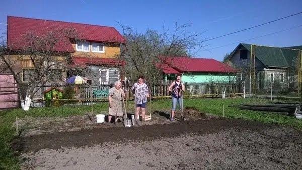 В СССР дача была для работы, а не для отдыха.