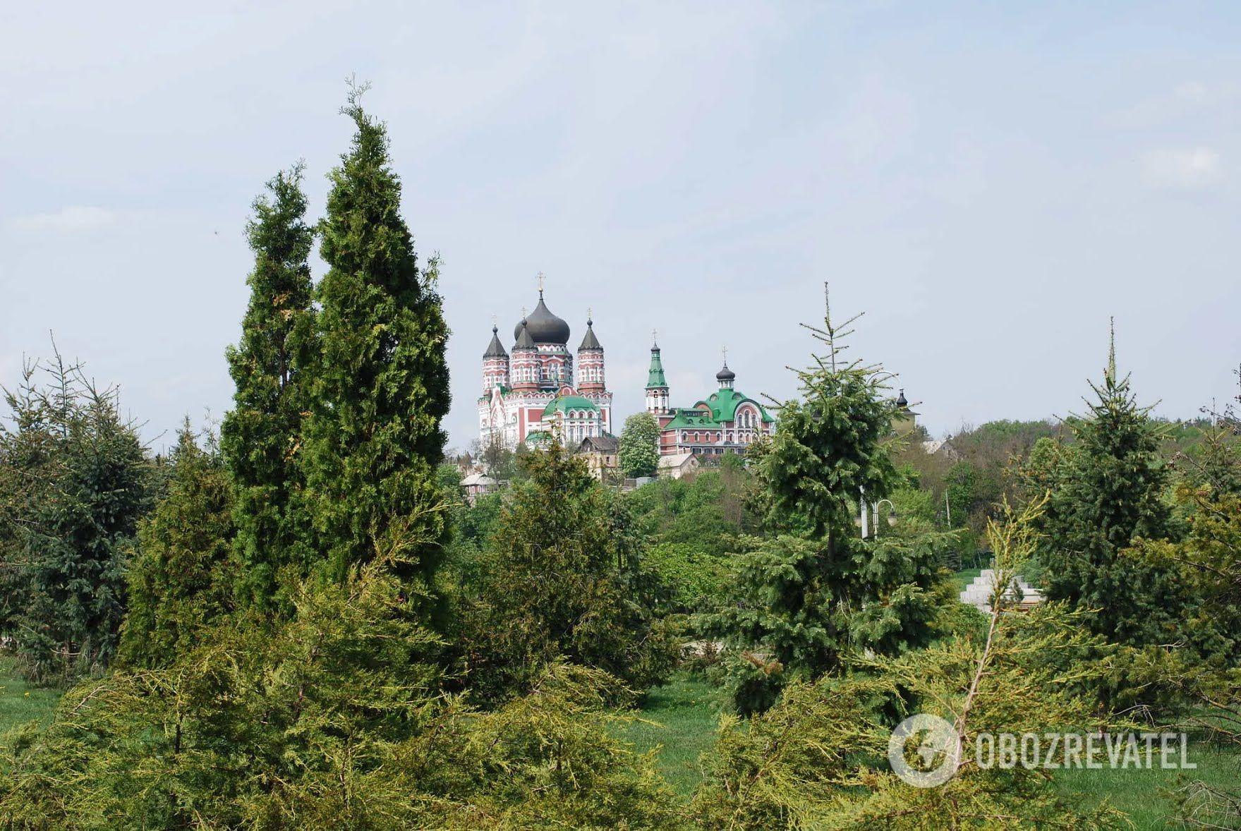 Парк находится в исторической местности.