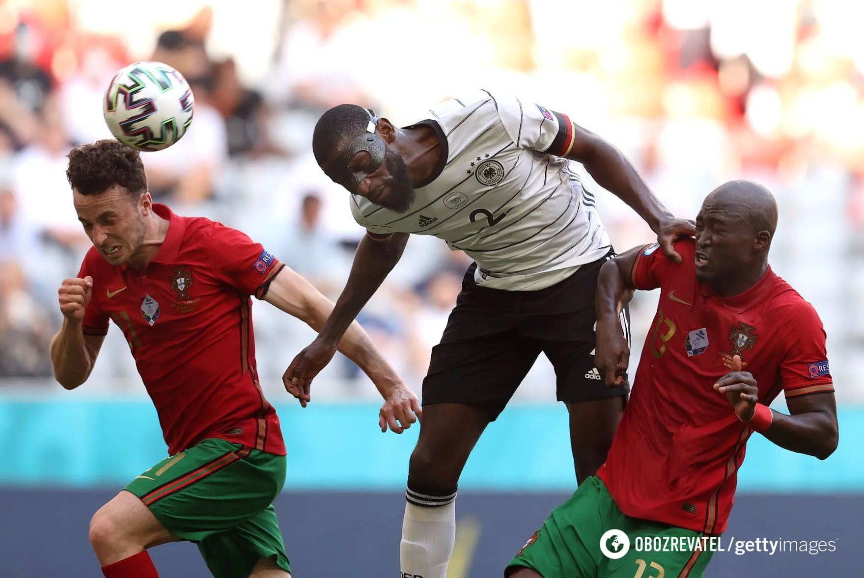 Португалия проиграла Германии