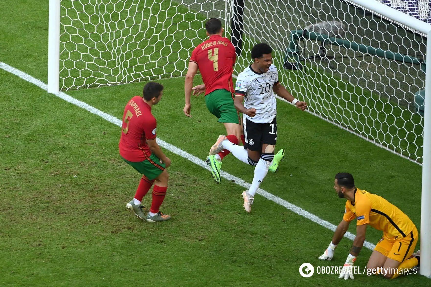 Португальцы смогли сократить отставание.