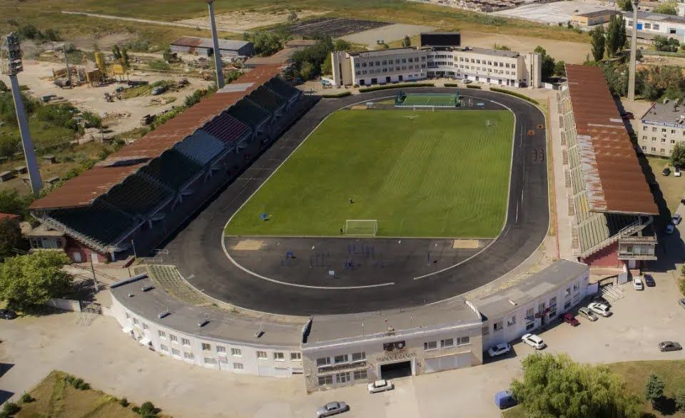 Стадион до затопления