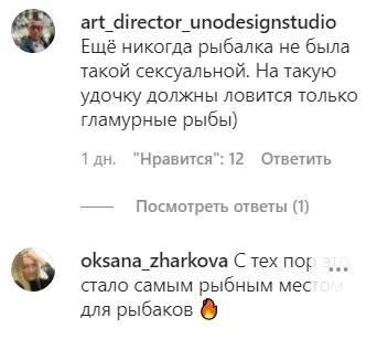 Комментарии поклонников в сети