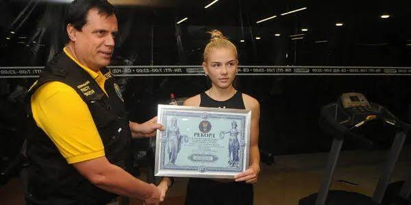 Катерина Долган встановила рекорд в 2020 році