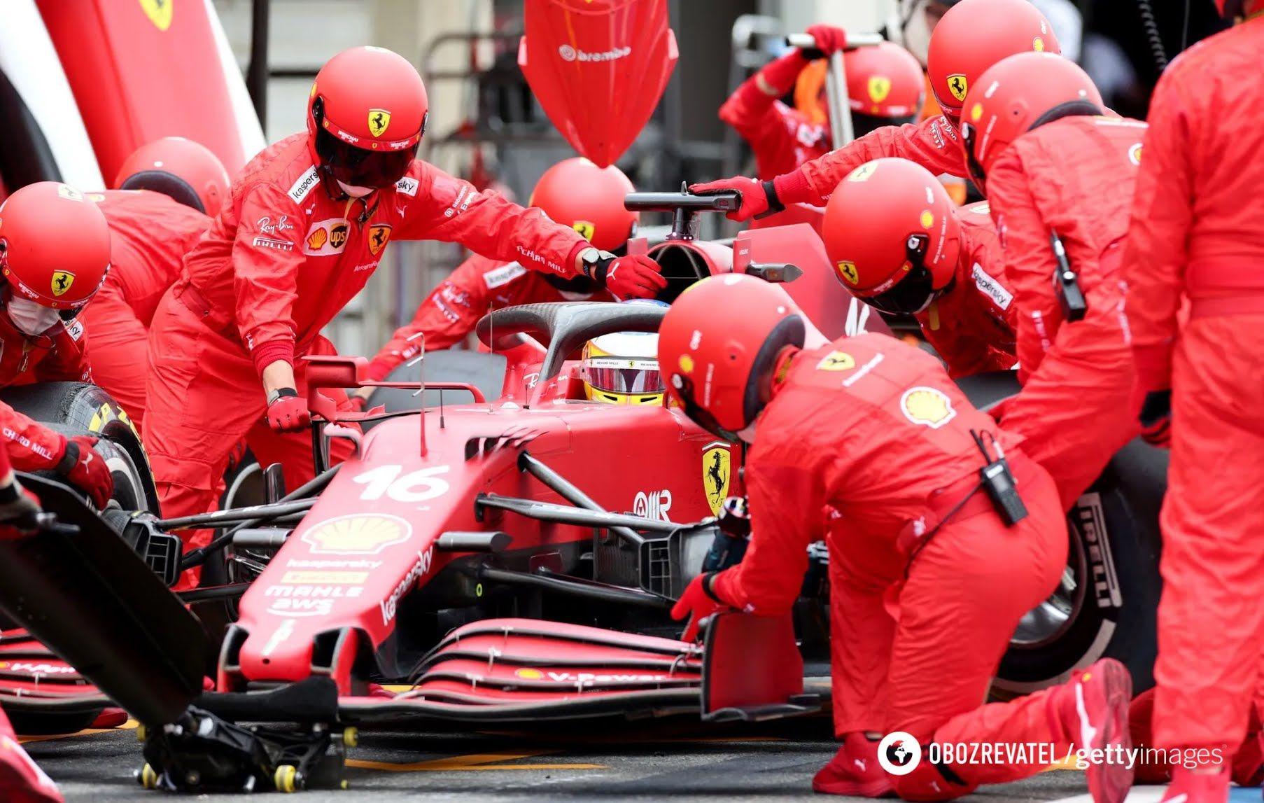 Ferrari провалилися