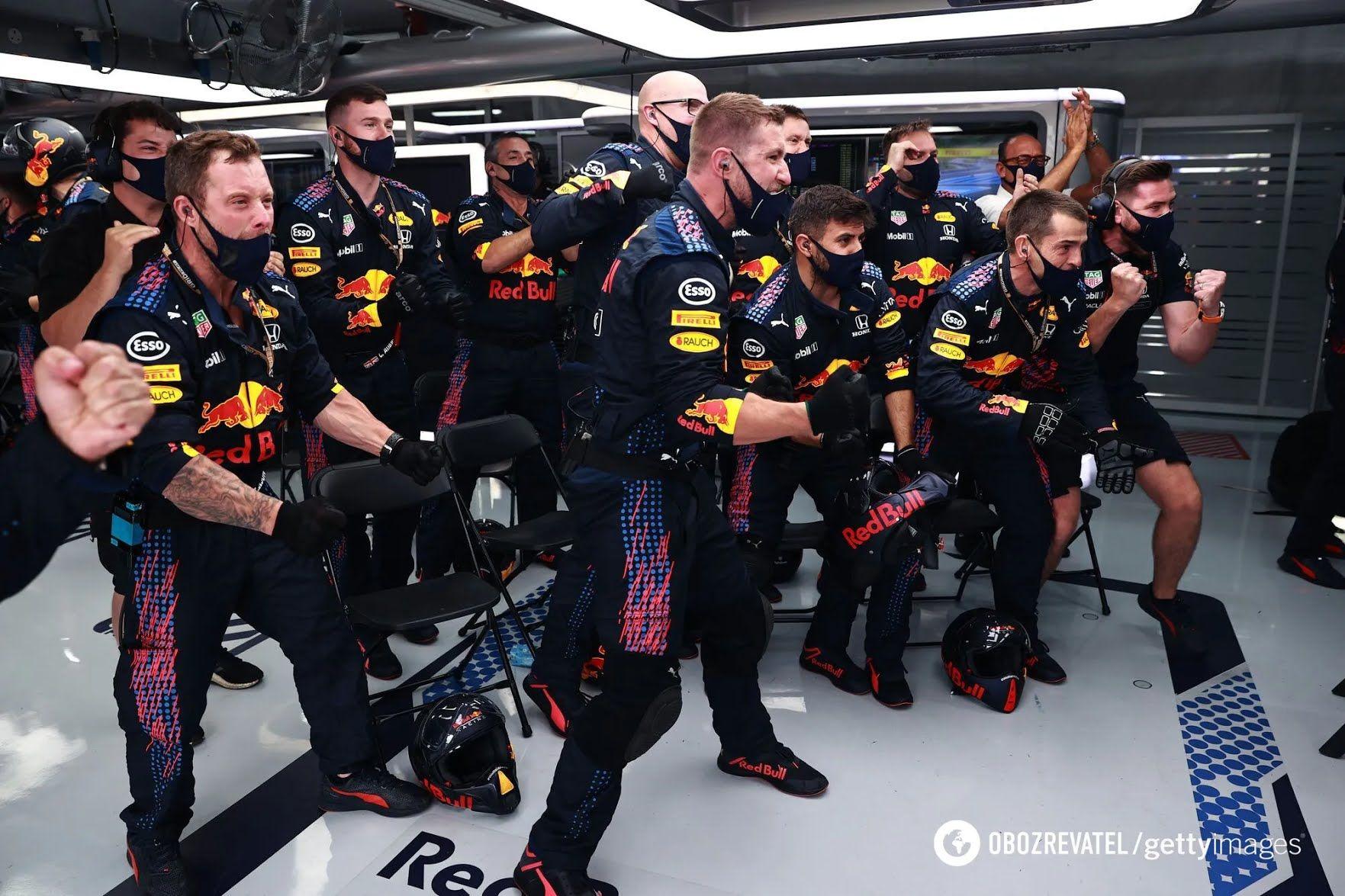 Механіки Red Bull