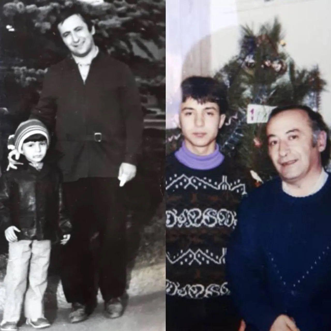 Володимир Зеленський з татом Олександром Семеновичем