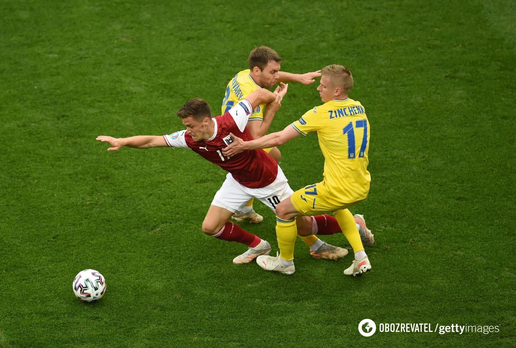 Україна програла Австрії.