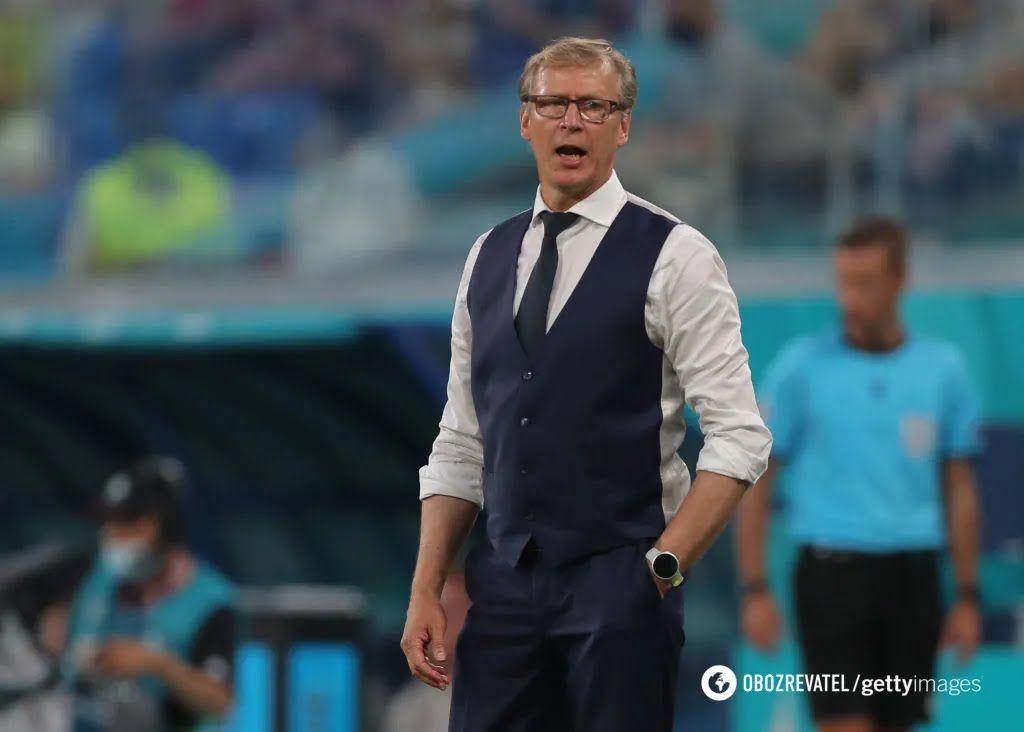 Маркку Канерва, главный тренер сборной Финляндии.