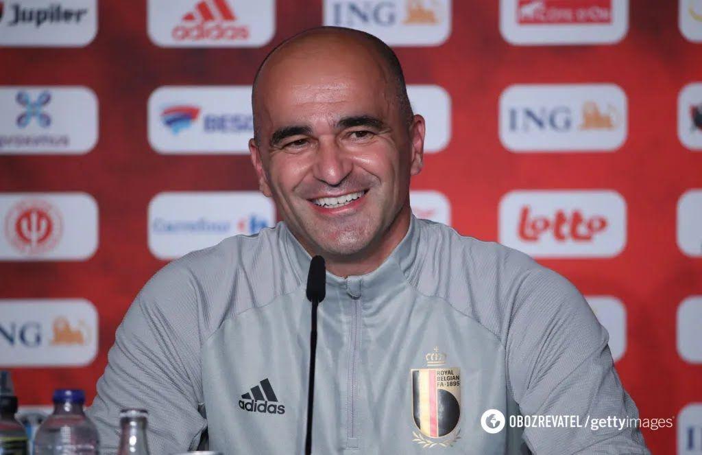 Роберто Мартинес, главный тренер сборной Бельгии.