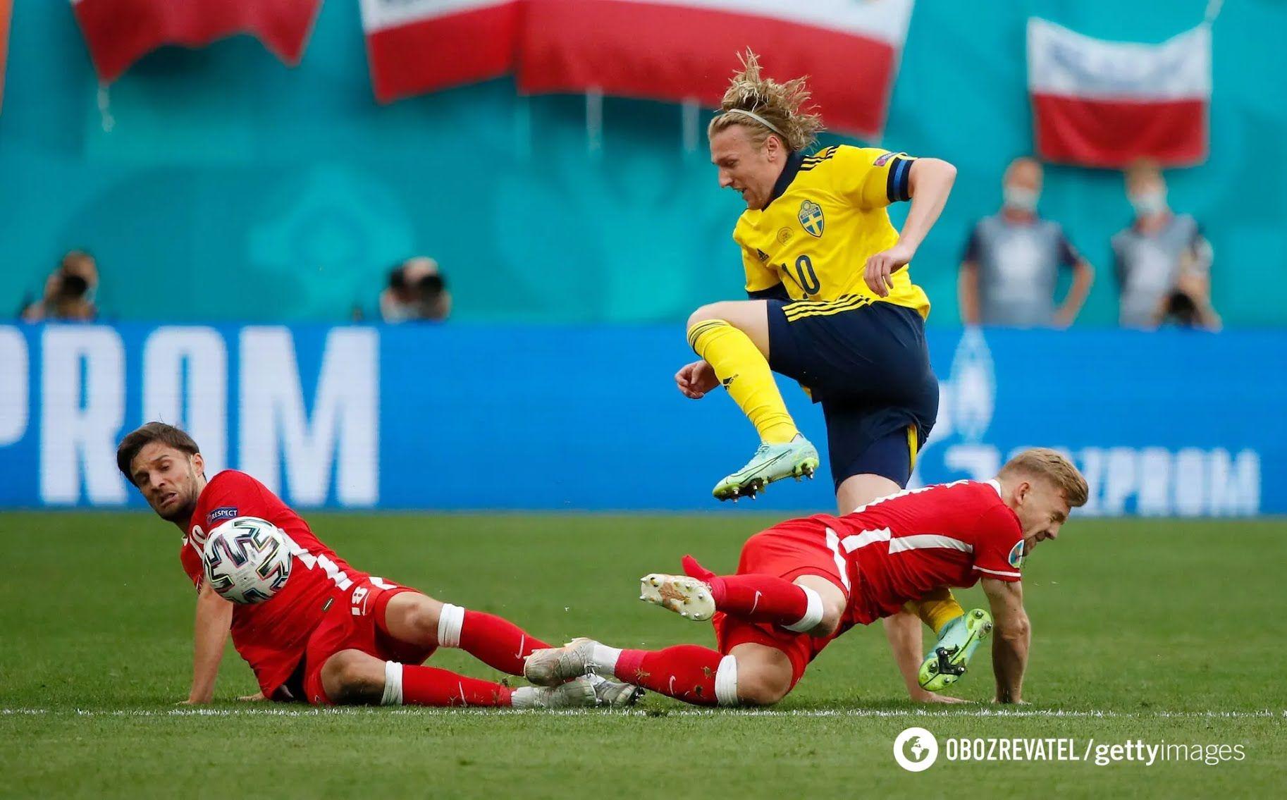 Форсберг забив перший гол